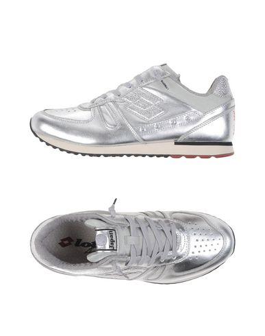 Купить Низкие кеды и кроссовки от LOTTO LEGGENDA серебристого цвета