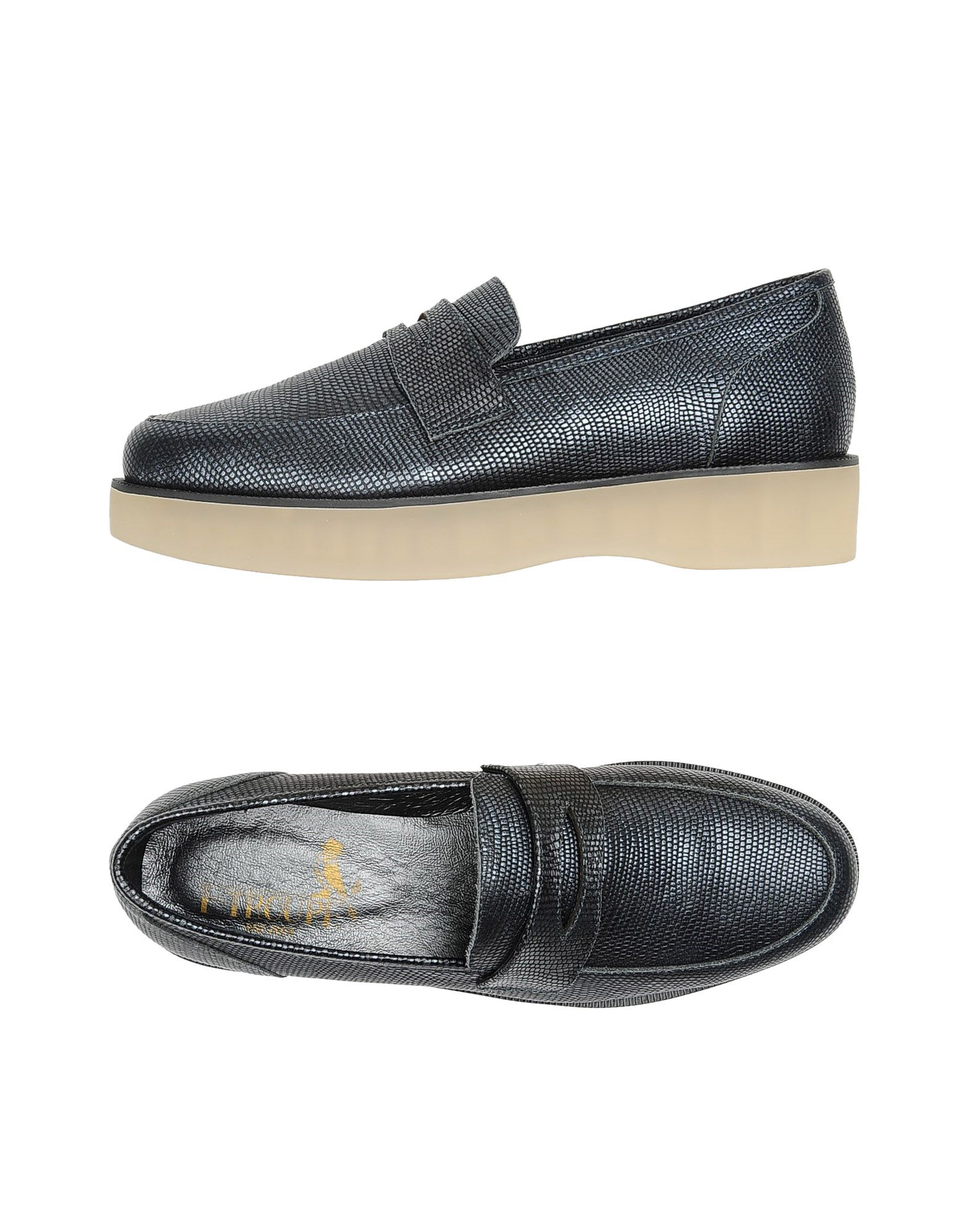 F-TROUPE Loafers in Steel Grey