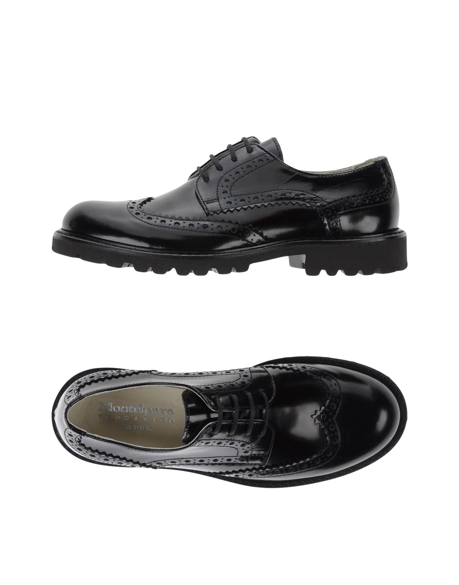MONTELPARE TRADITION   MONTELPARE TRADITION Lace-Up Shoes 11090451   Goxip