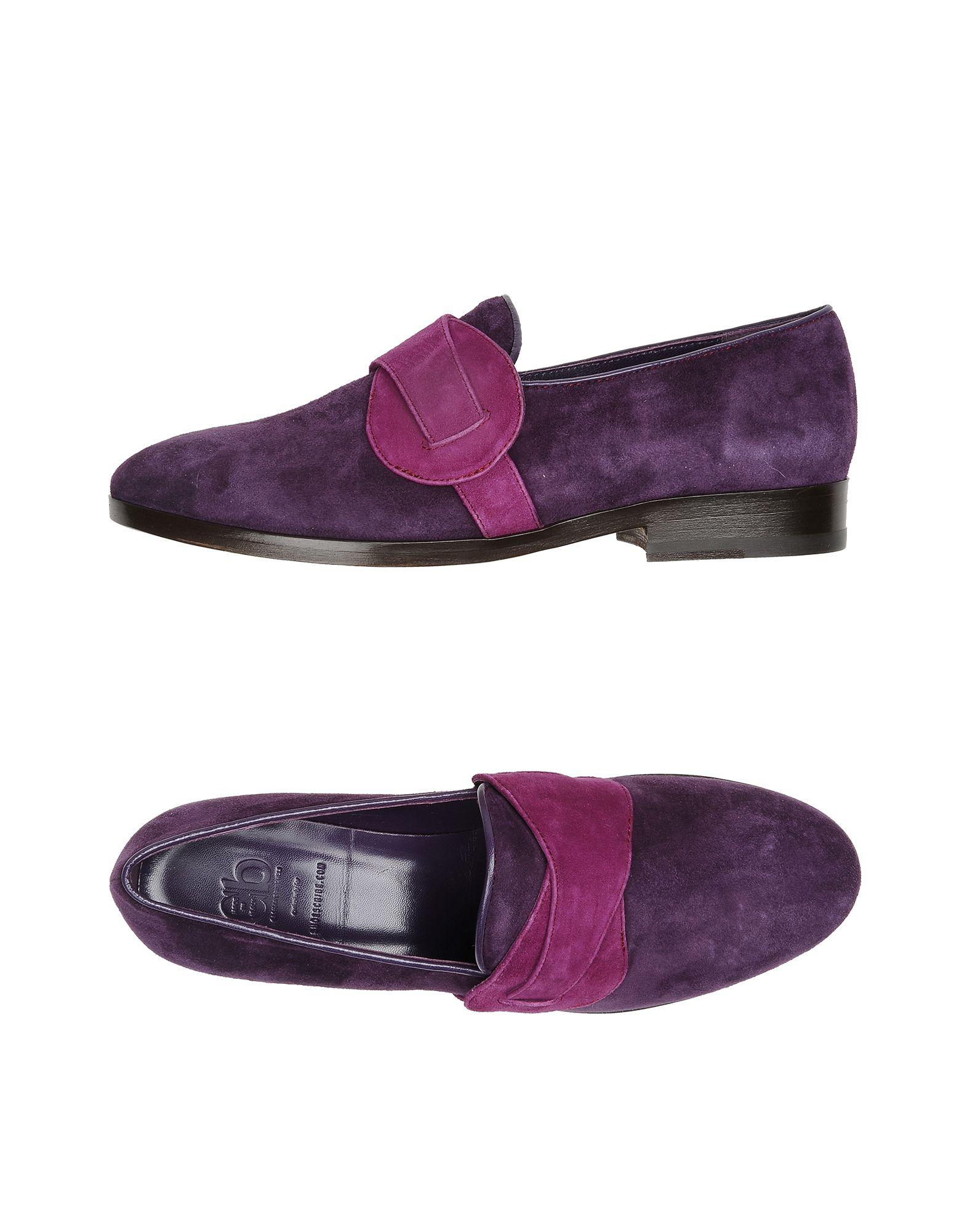 CB CECILIA BRINGHELI Loafers in Purple