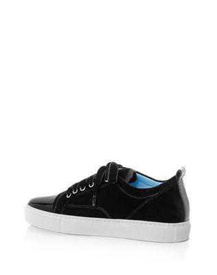 LANVIN BLACK LOW-TOP SNEAKER Sneakers D d