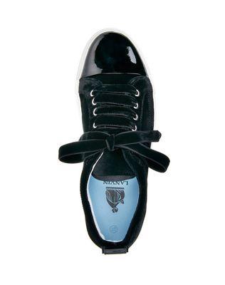 LANVIN BLACK LOW-TOP SNEAKER Sneakers D r