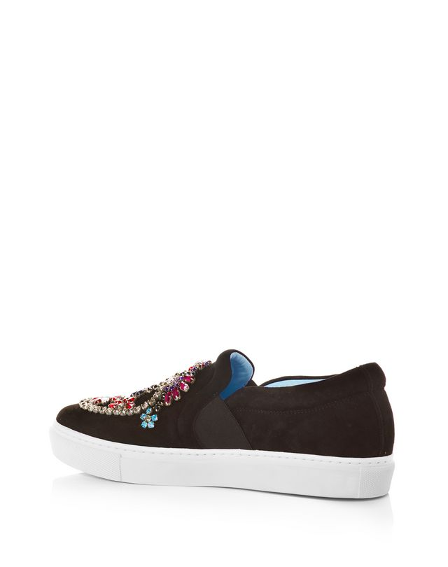 LANVIN EMBROIDERED SLIP-ON SNEAKER Sneakers D d