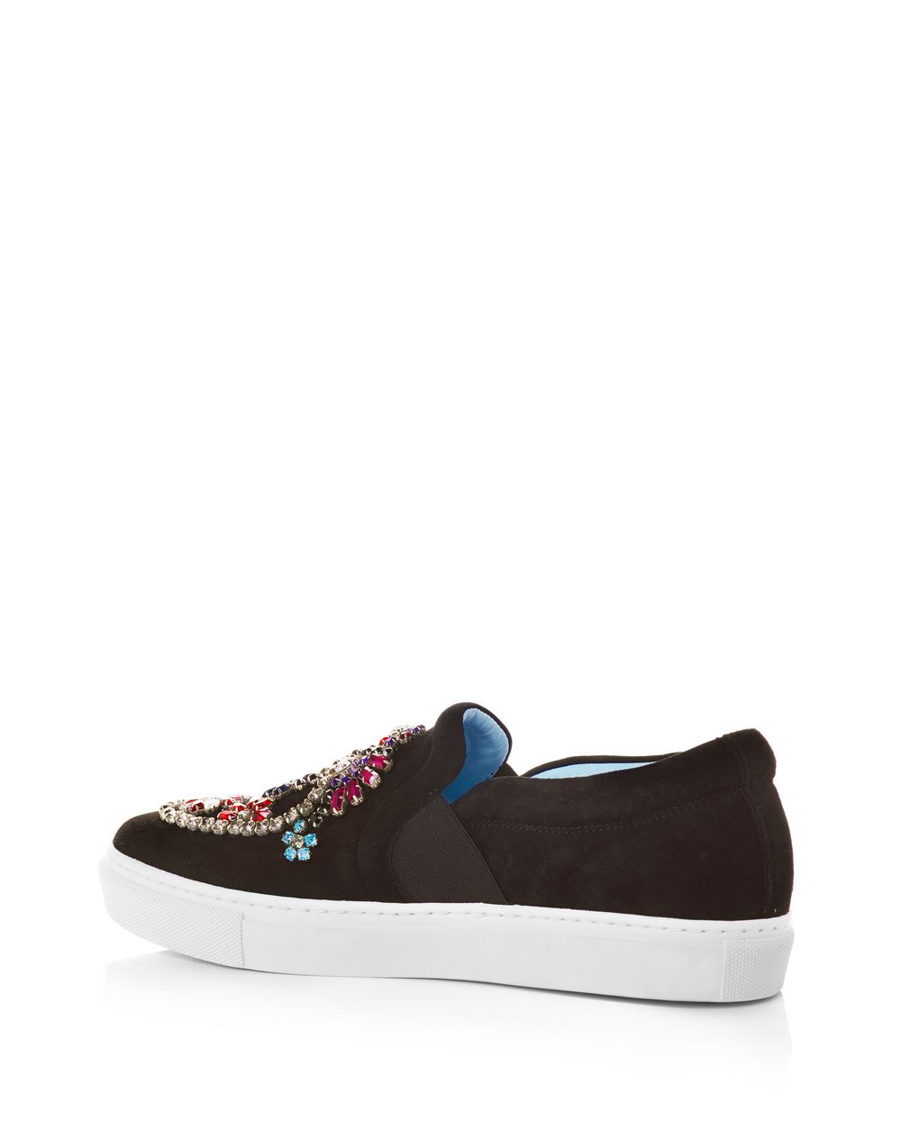 EMBROIDERED SLIP-ON SNEAKER  - Lanvin