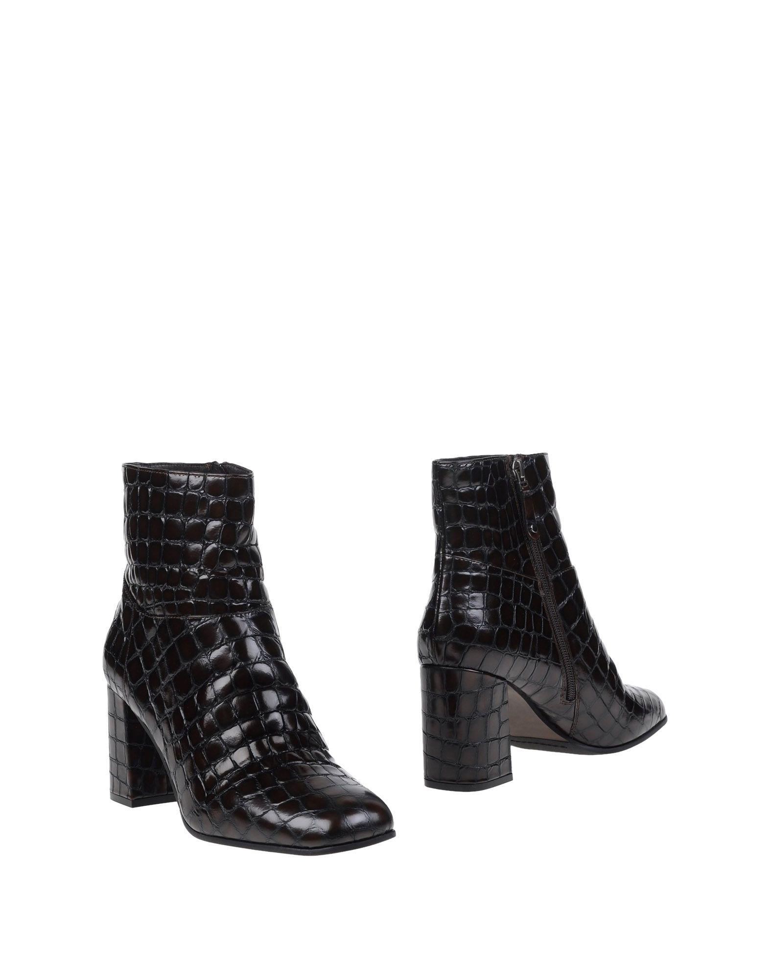 ELVIO ZANON Полусапоги и высокие ботинки цены онлайн