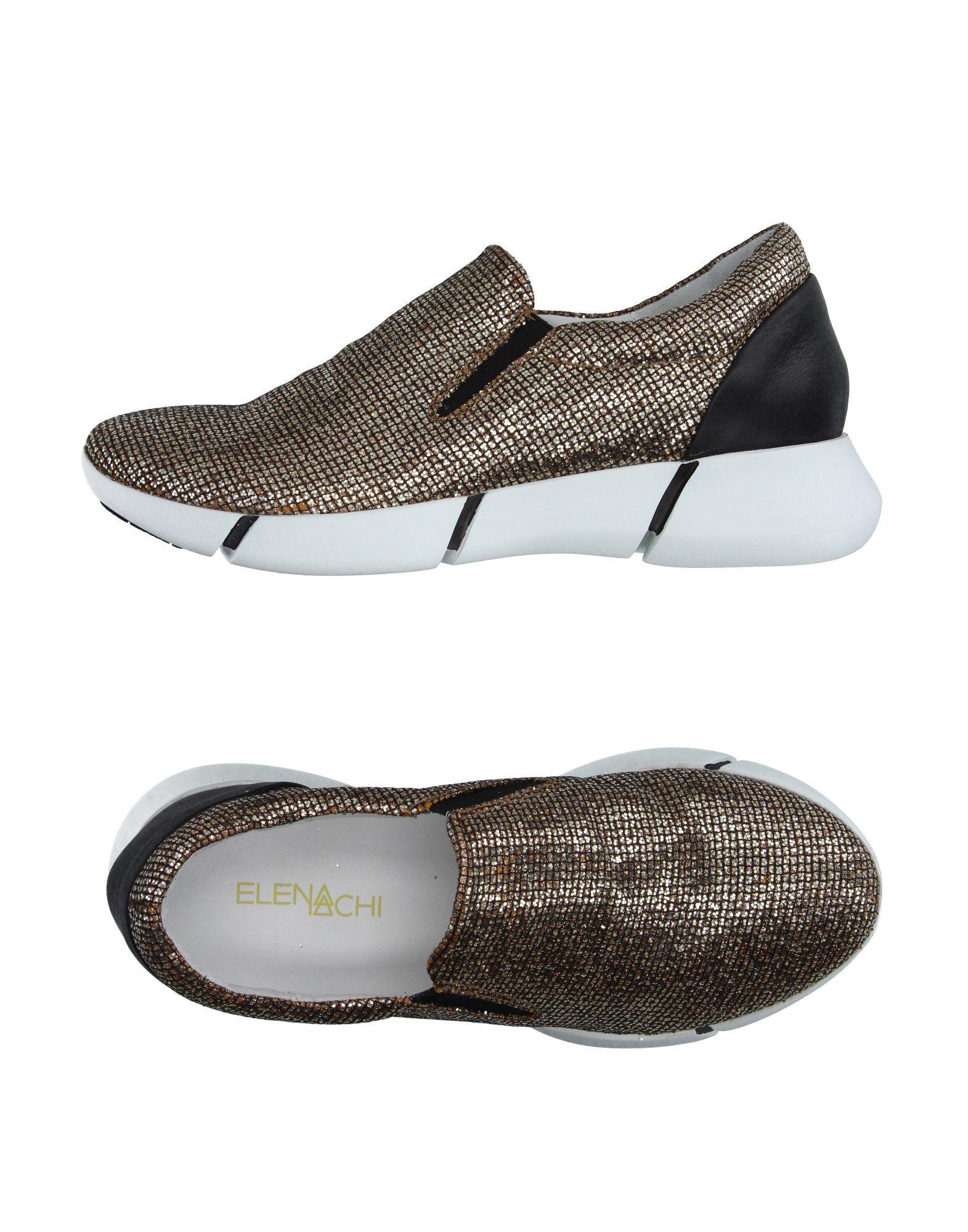 ELENA IACHI Низкие кеды и кроссовки elena iachi высокие кеды и кроссовки