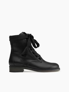 Harper flat ankle boot
