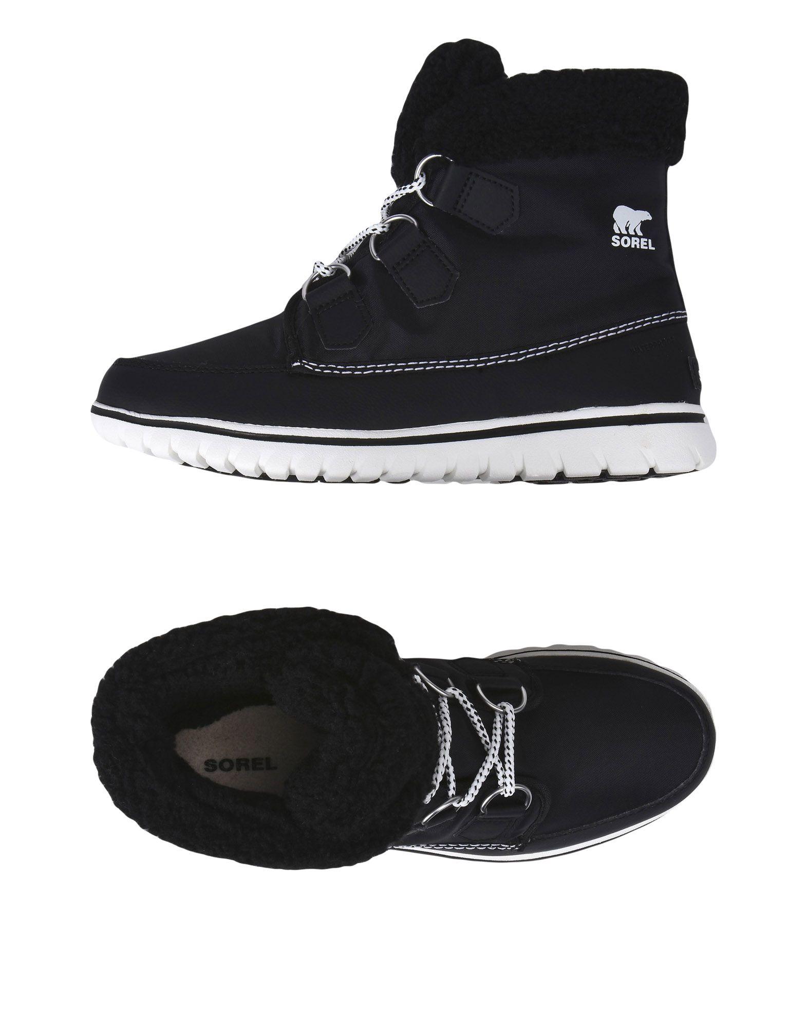 SOREL Полусапоги и высокие ботинки какие лыжи и ботинки для школы