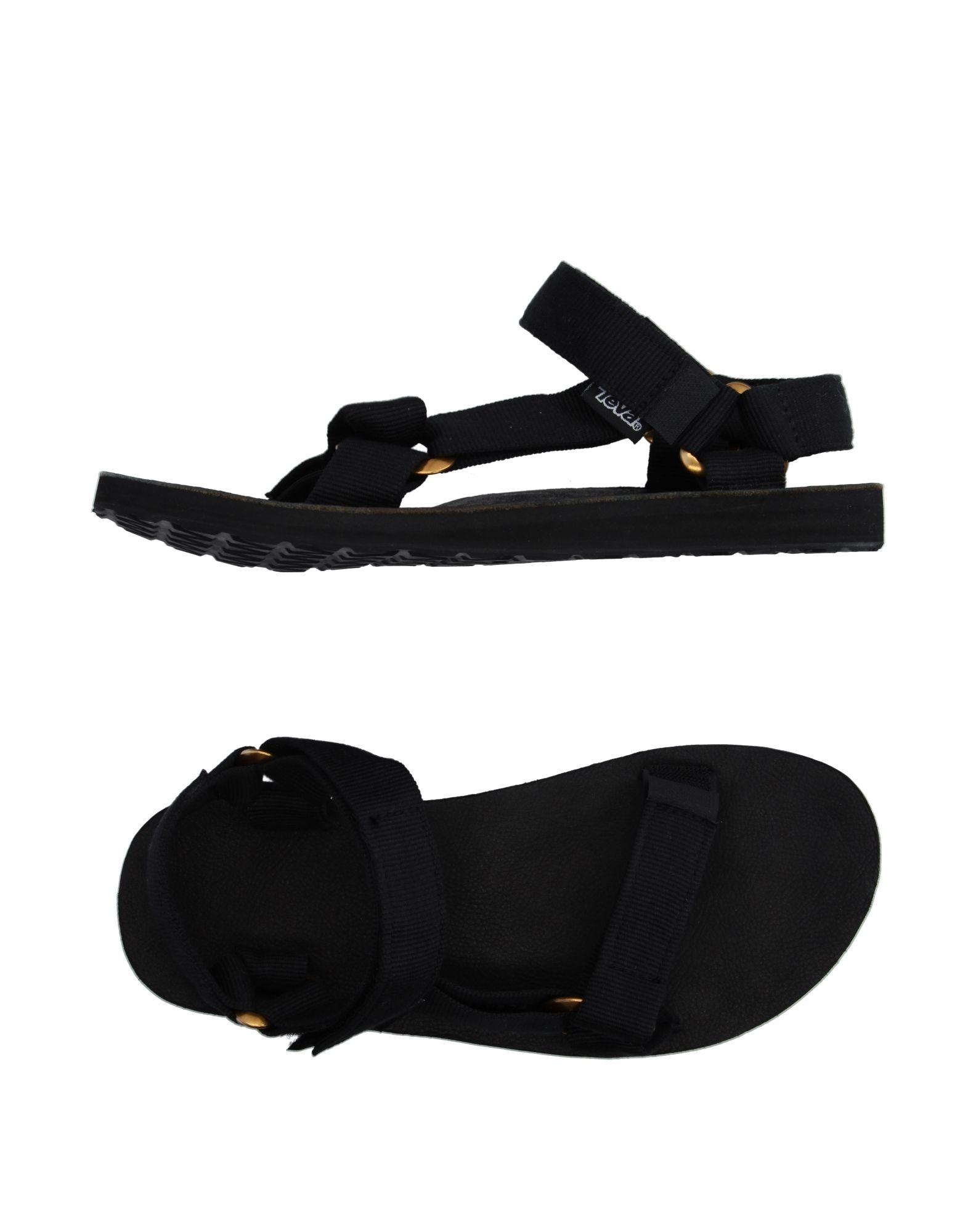 《セール開催中》TEVA メンズ サンダル ブラック 12 紡績繊維