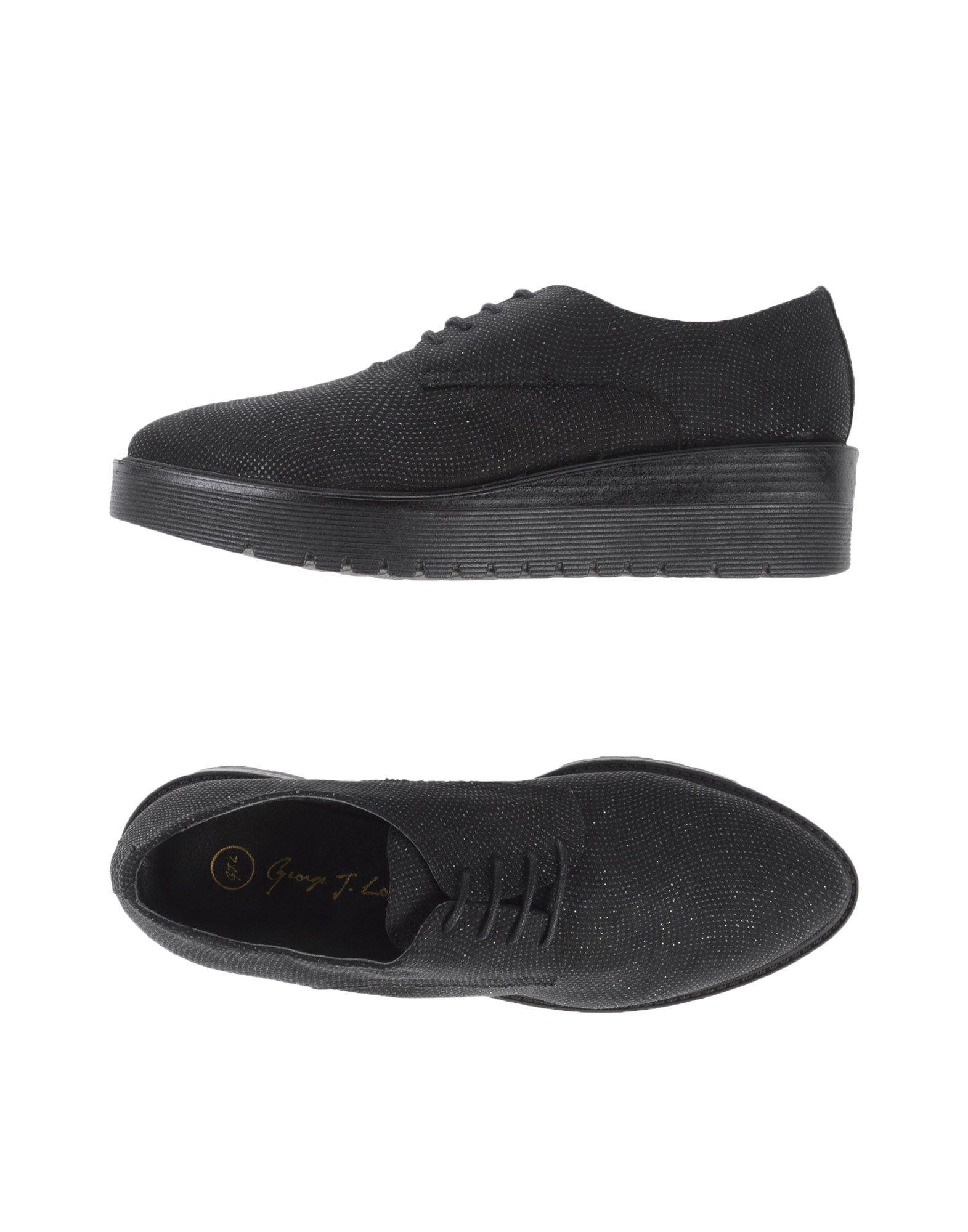 GEORGE J. LOVE Обувь на шнурках цены онлайн