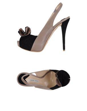 GIANNI MARRA Damen Sandale Farbe Schwarz Größe 9