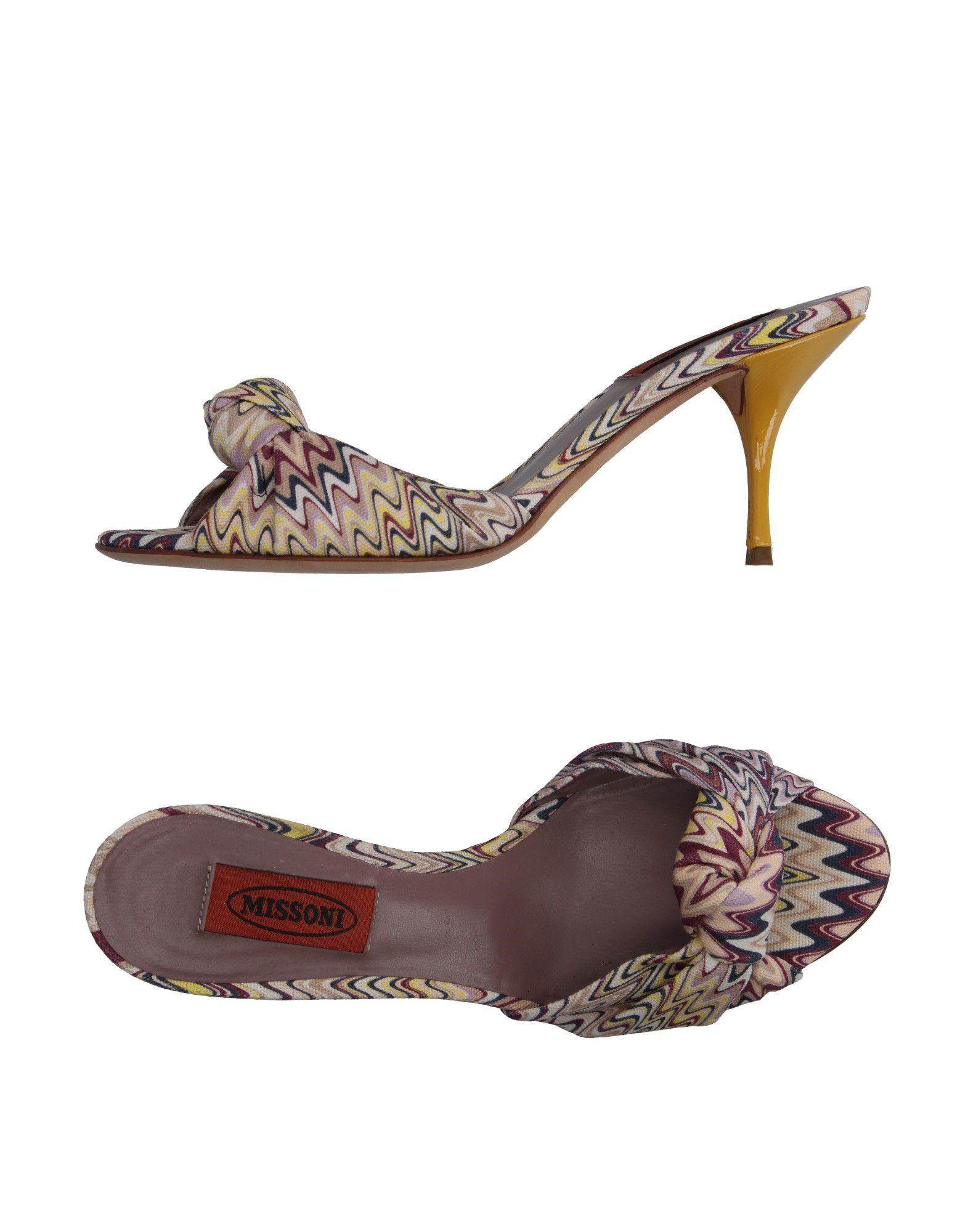 Missoni Canvases Sandals