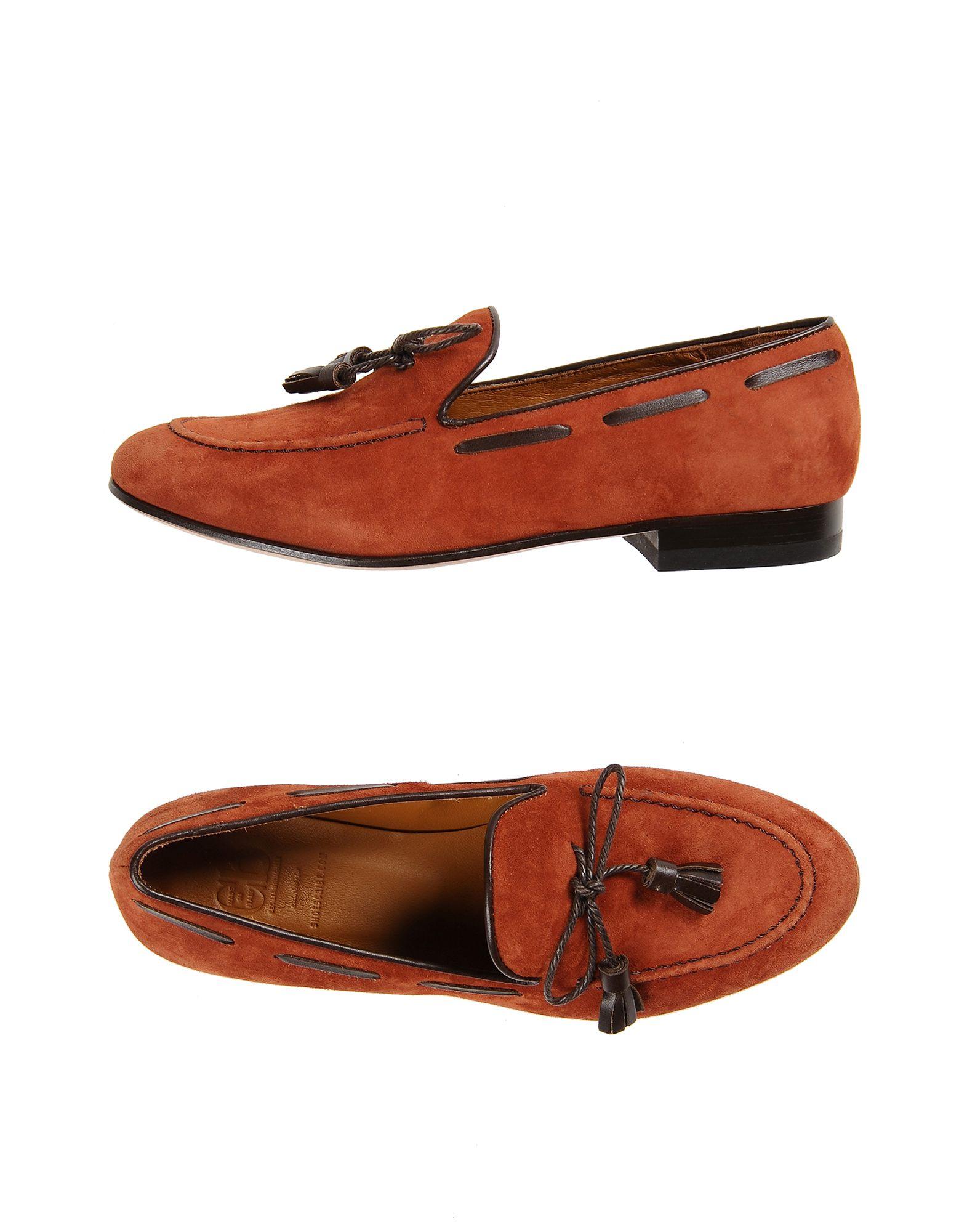 CB CECILIA BRINGHELI Loafers in Rust