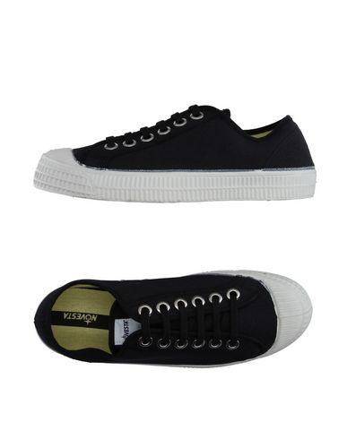 Купить Низкие кеды и кроссовки от NOVESTA черного цвета