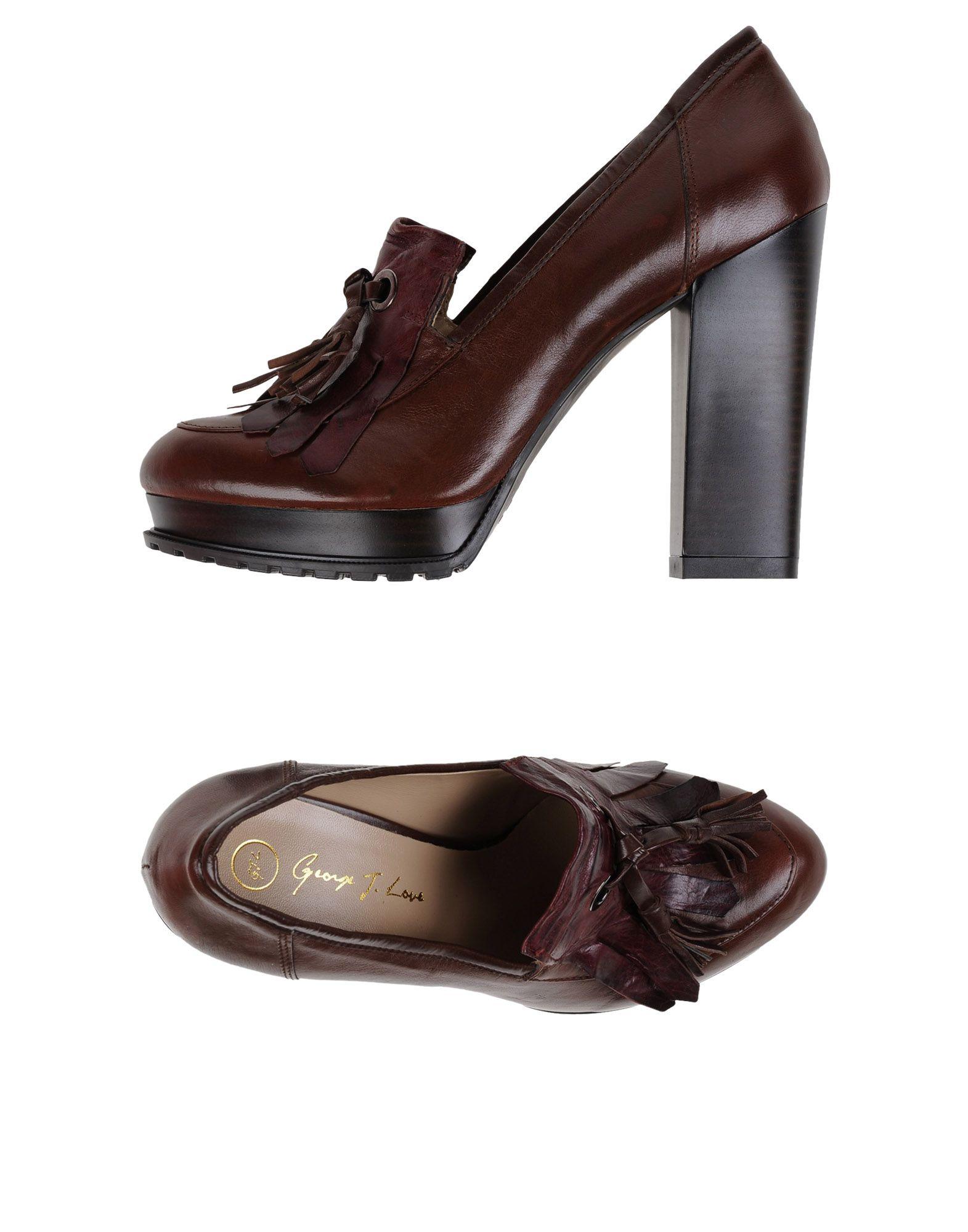 GEORGE J. LOVE Мокасины george j love полусапоги и высокие ботинки