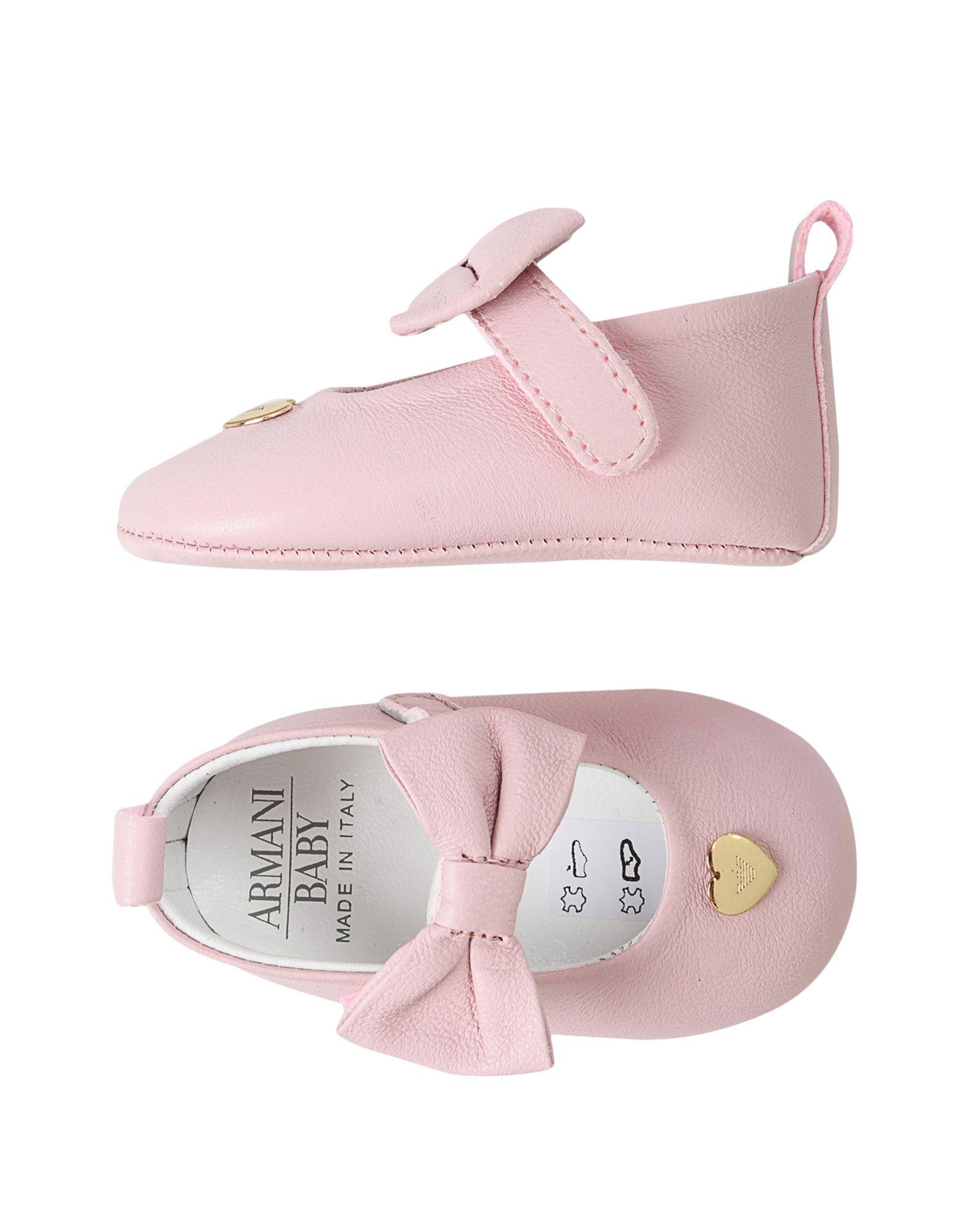 ARMANI JUNIOR Обувь для новорожденных