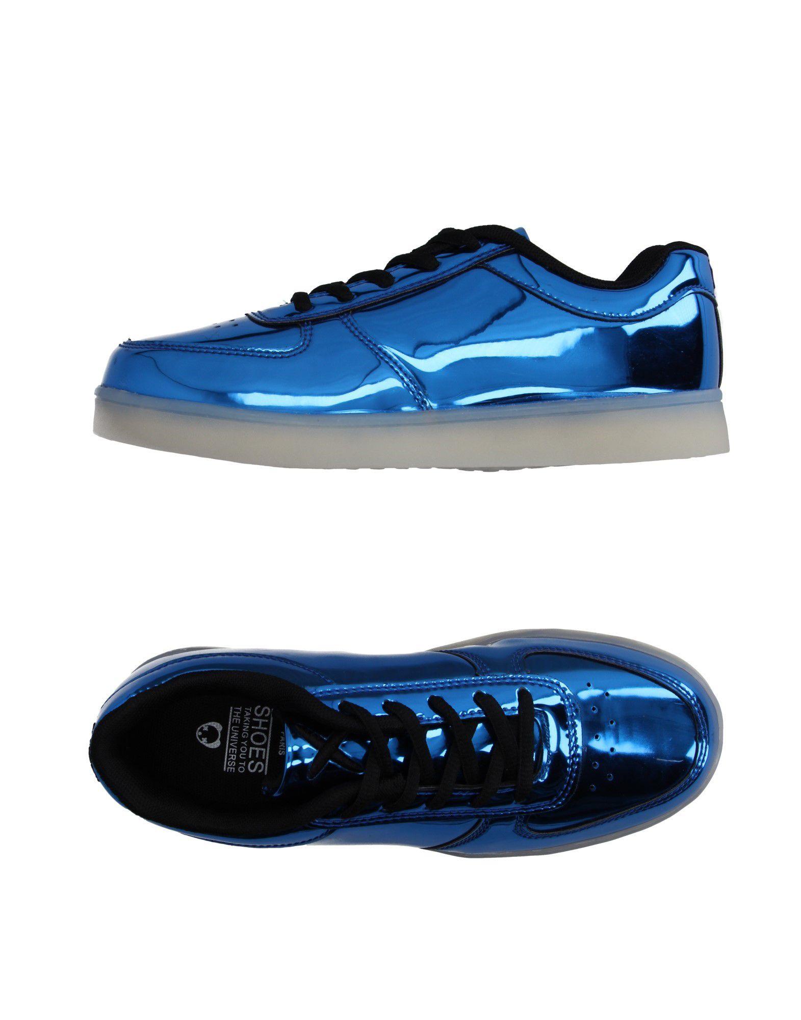 《送料無料》WIZE & OPE レディース スニーカー&テニスシューズ(ローカット) ブライトブルー 5.5 紡績繊維