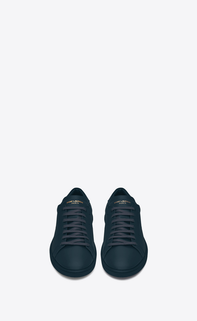 SAINT LAURENT Low Sneakers U sneakers sl/01 court classic color indaco in pelle b_V4