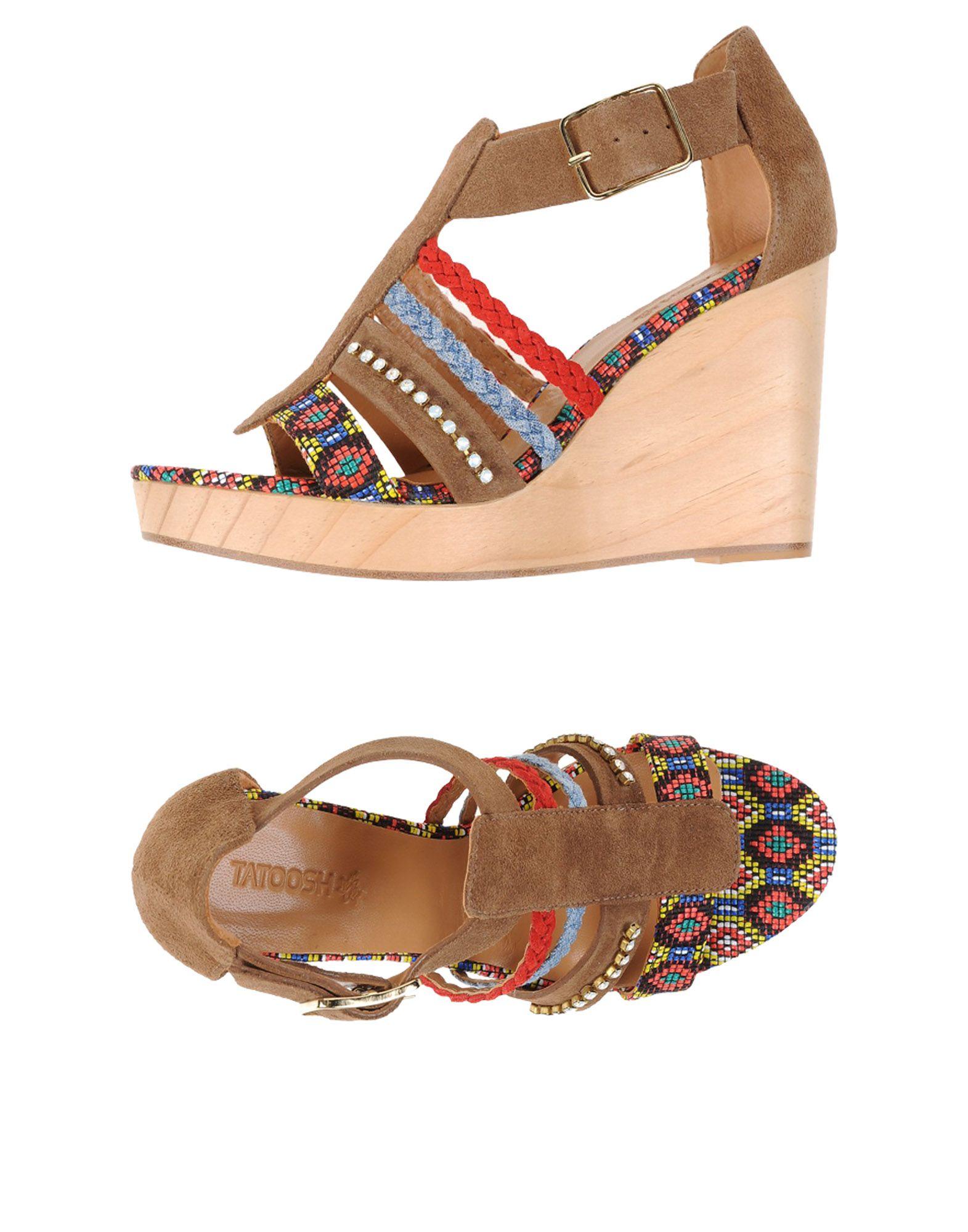 TATOOSH Sandals in Khaki