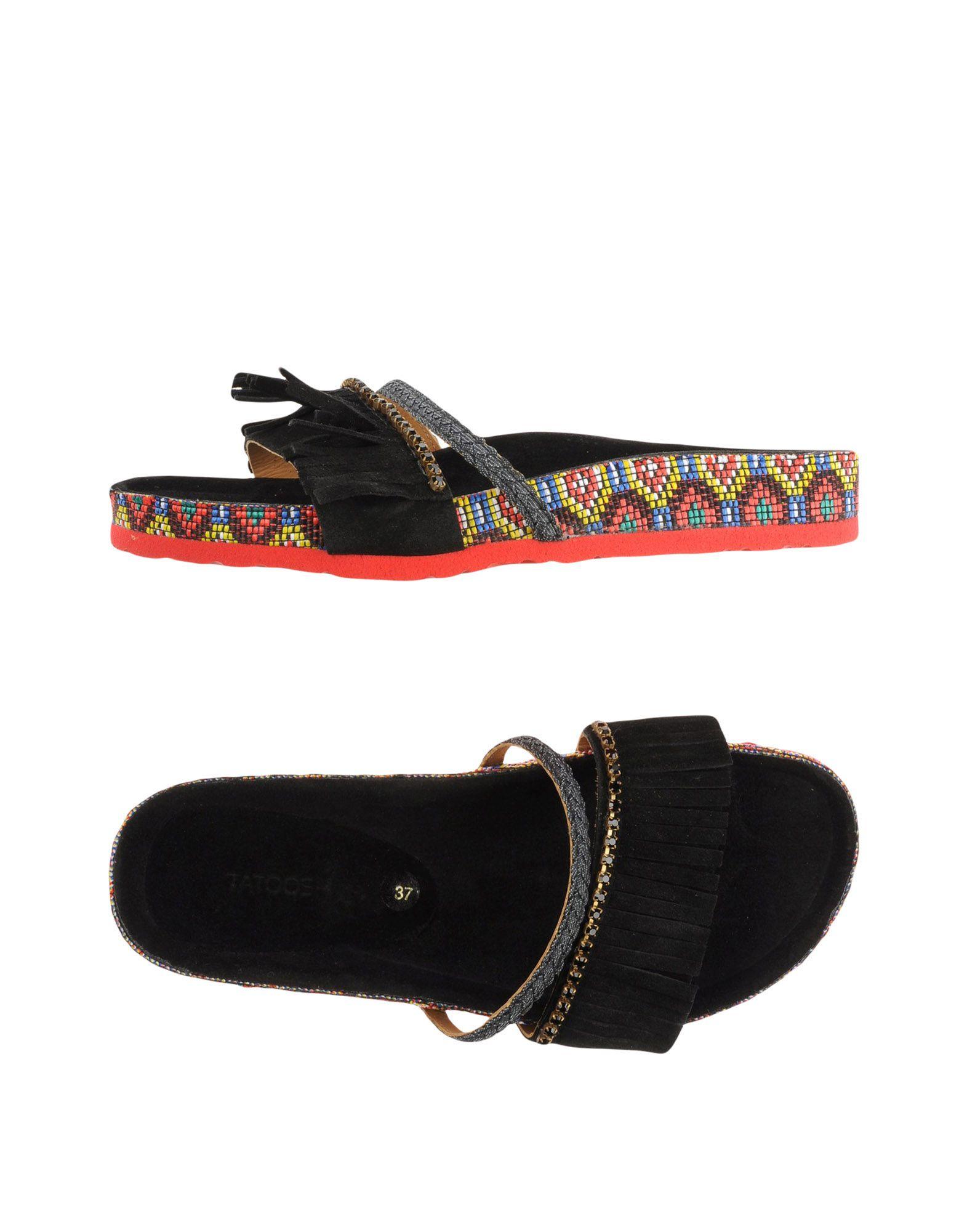 TATOOSH Sandals in Black