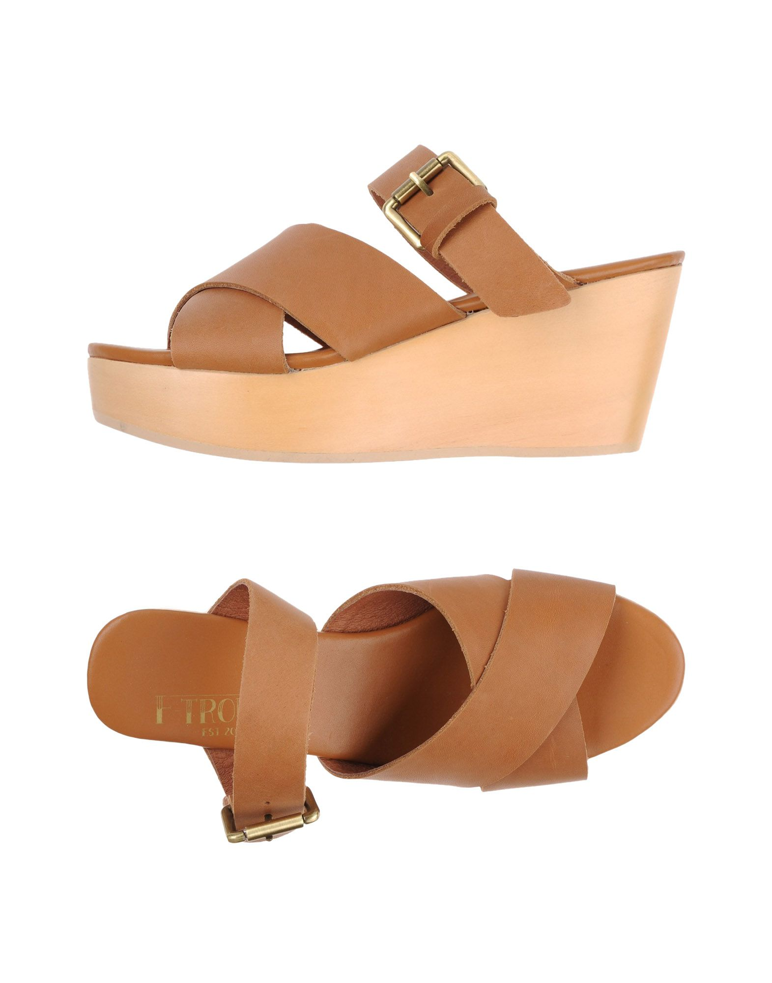 F-TROUPE Sandals in Brown