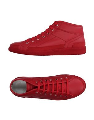 MAISON MARGIELA Herren High Sneakers & Tennisschuhe Farbe Rot Größe 3 Sale Angebote Terpe