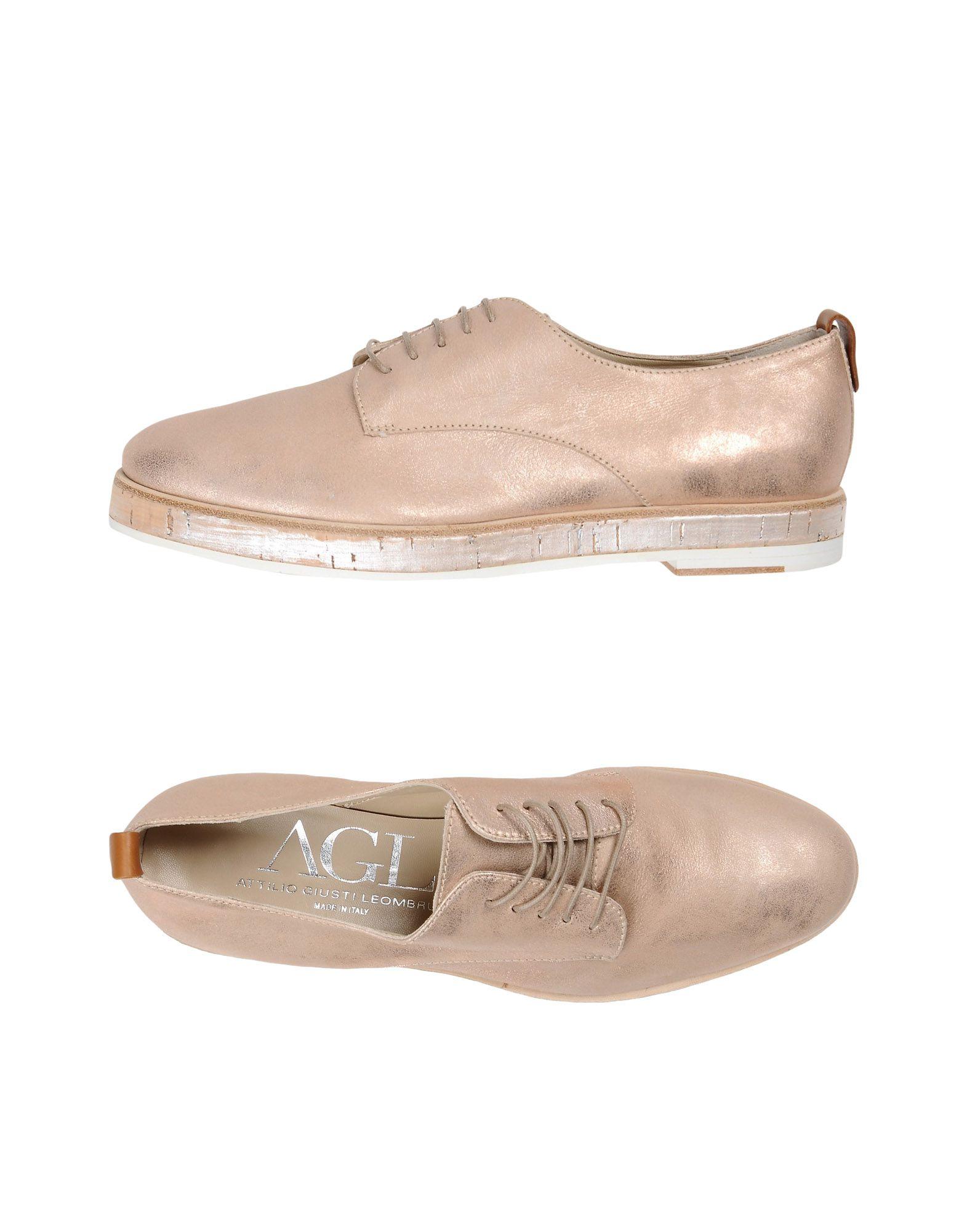 AGL ATTILIO GIUSTI LEOMBRUNI Обувь на шнурках цены онлайн