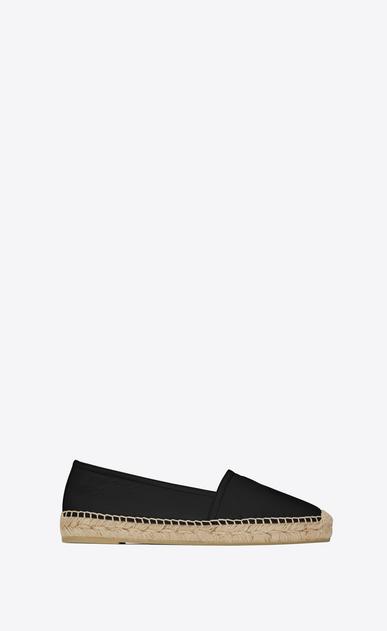 SAINT LAURENT Espadrille D MONOGRAM ESPADRILLE in Black Leather v4