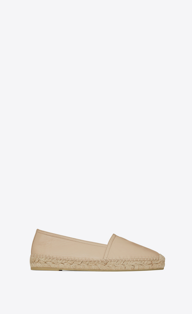 SAINT LAURENT Espadrille D MONOGRAM ESPADRILLE in Rose Leather v4