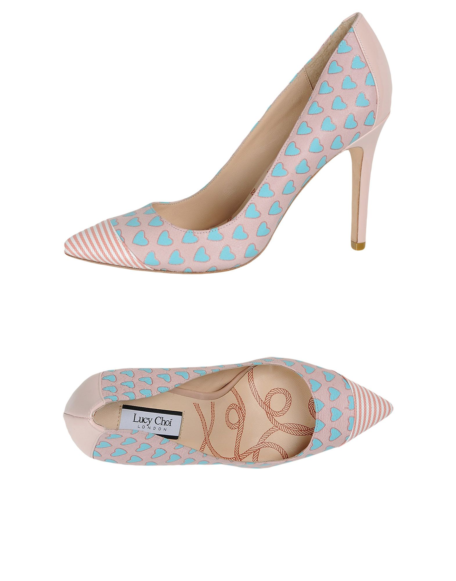 LUCY CHOI Pump in Light Pink