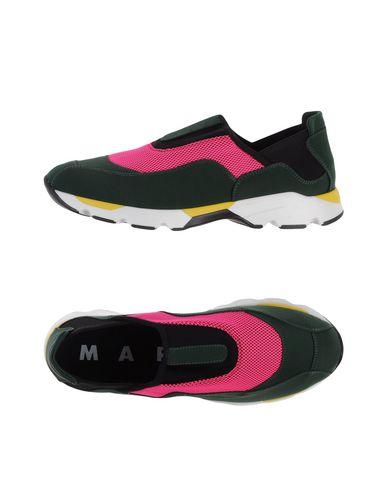 Низкие кеды и кроссовки MARNI 11117129LP