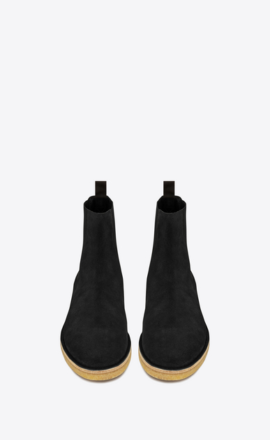 SAINT LAURENT Boots U nevada 20 chelsea boot in black suede b_V4