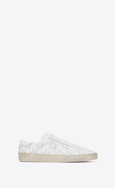 SAINT LAURENT SL/06 U Signature COURT CLASSIC SL/06 CALIFORNIA Sneaker in Off White Distressed Leather v4