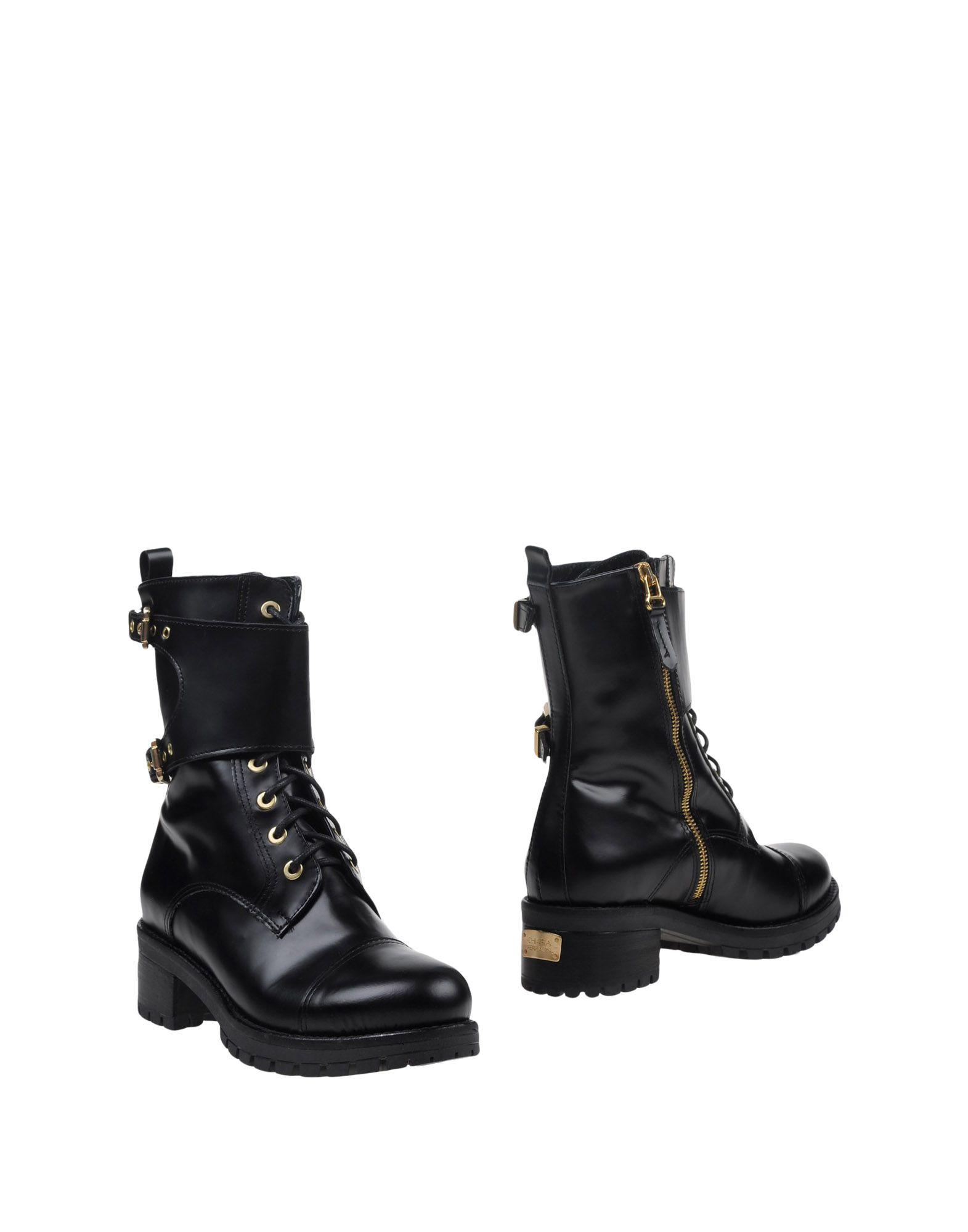 CHIARA FERRAGNI Полусапоги и высокие ботинки ботинки bekerandmiller bekerandmiller be054amvtn26