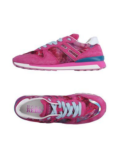 Фото - Низкие кеды и кроссовки от HOGAN REBEL цвета фуксия
