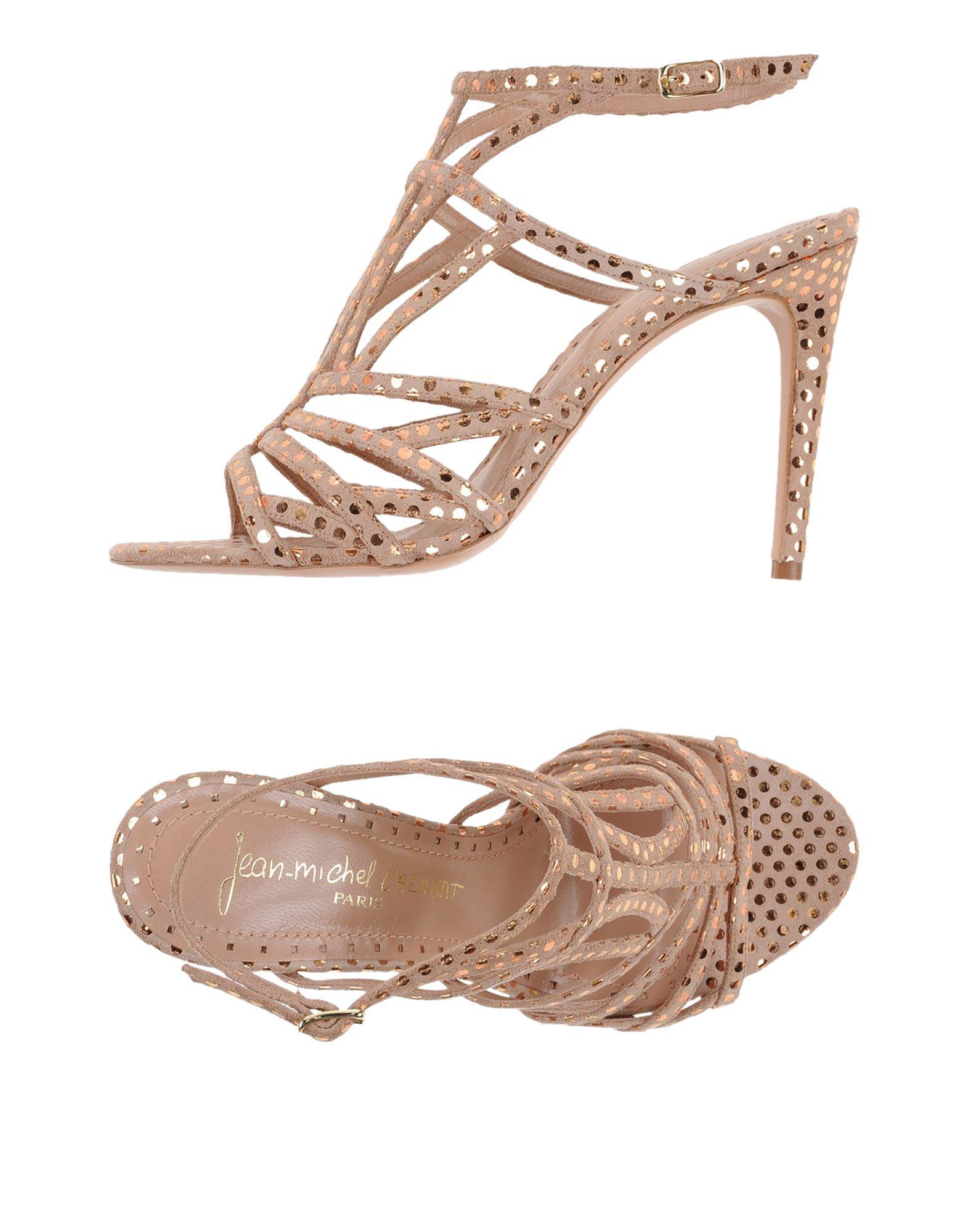 JEAN-MICHEL CAZABAT Sandals in Pale Pink