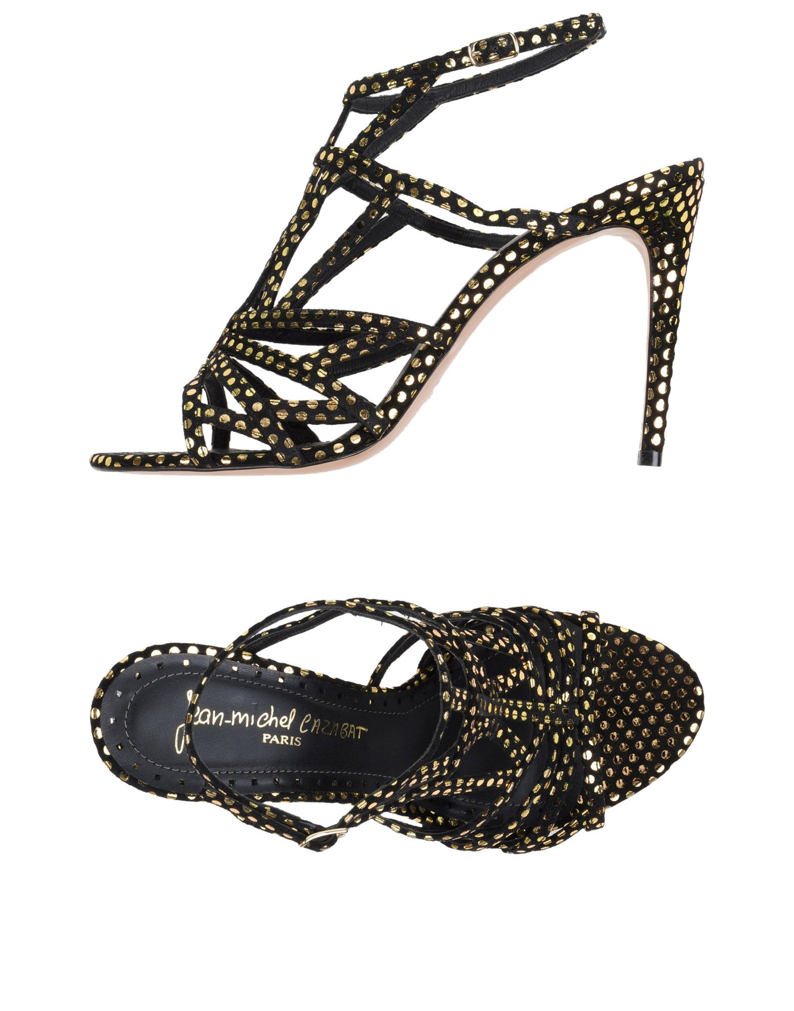 JEAN-MICHEL CAZABAT Sandals in Black
