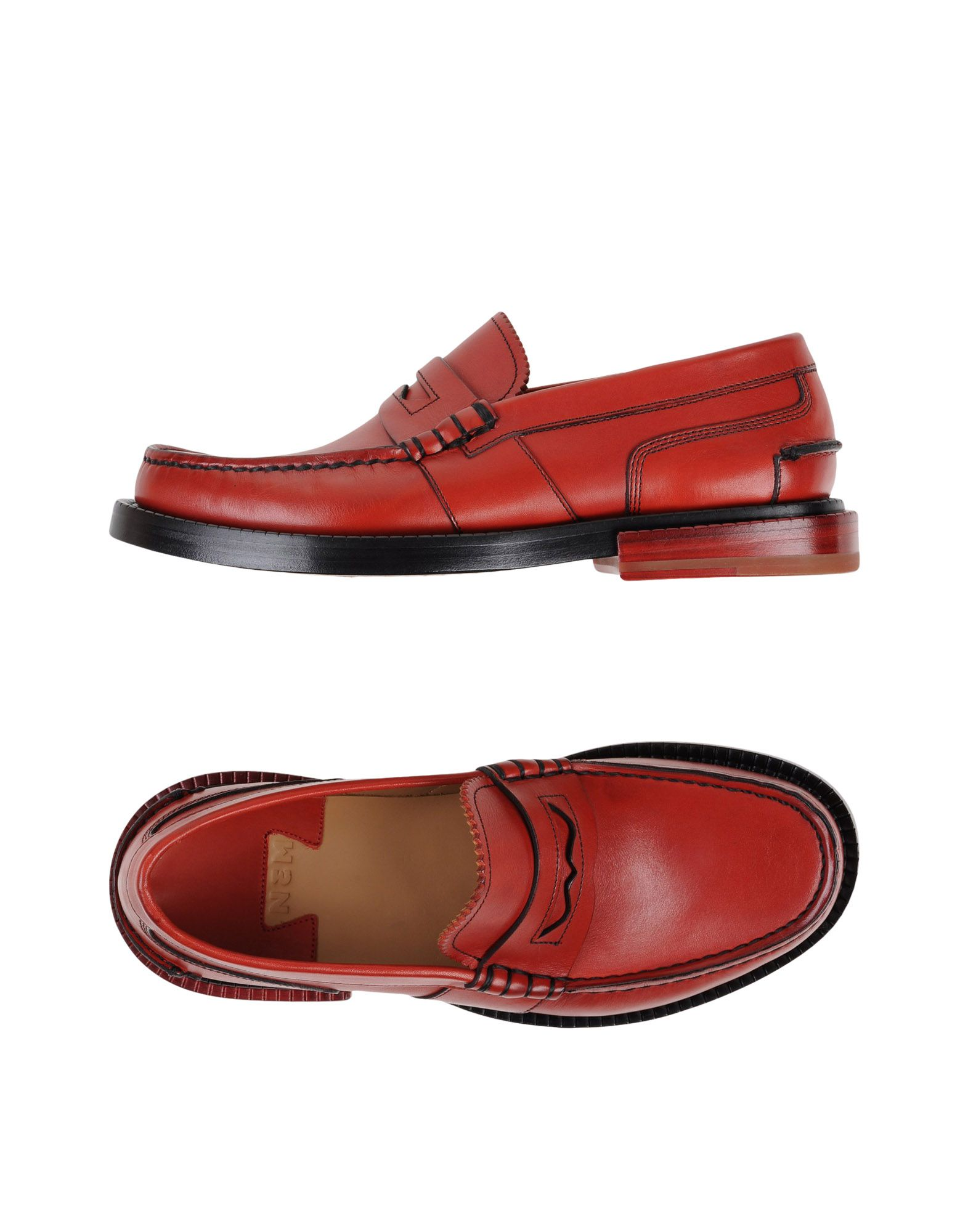 N3M NOITREMILANO Loafers in Brick Red
