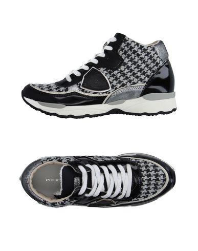 Высокие кеды и кроссовки от PHILIPPE MODEL