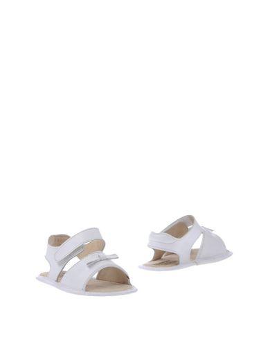 PAPPA & CICCIA Chaussures Bébé enfant. n?ud, uni, fermeture avec velcro, pointe arrondie, doublure en cuir, sans talons, c