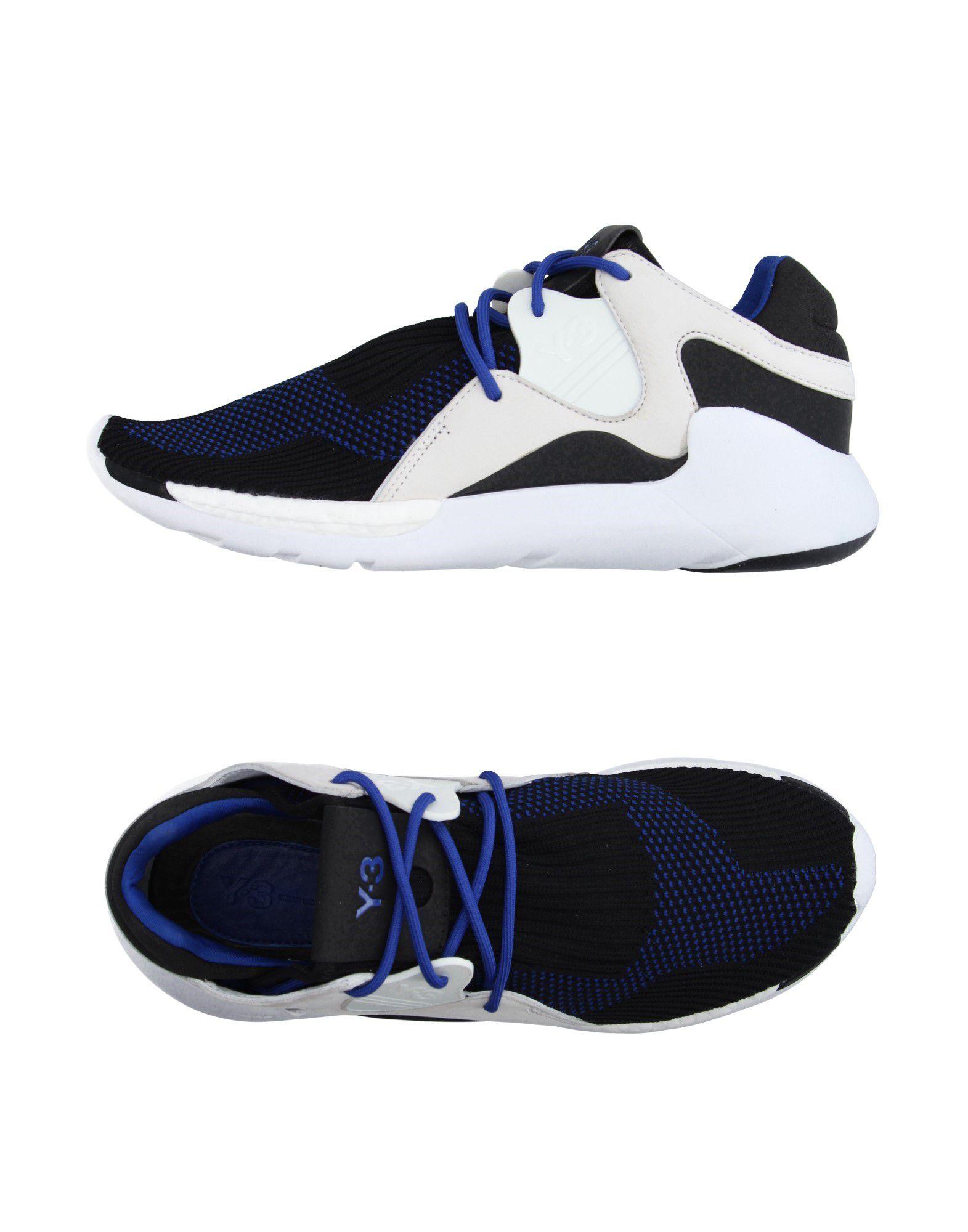 Y-3 Низкие кеды и кроссовки цены онлайн