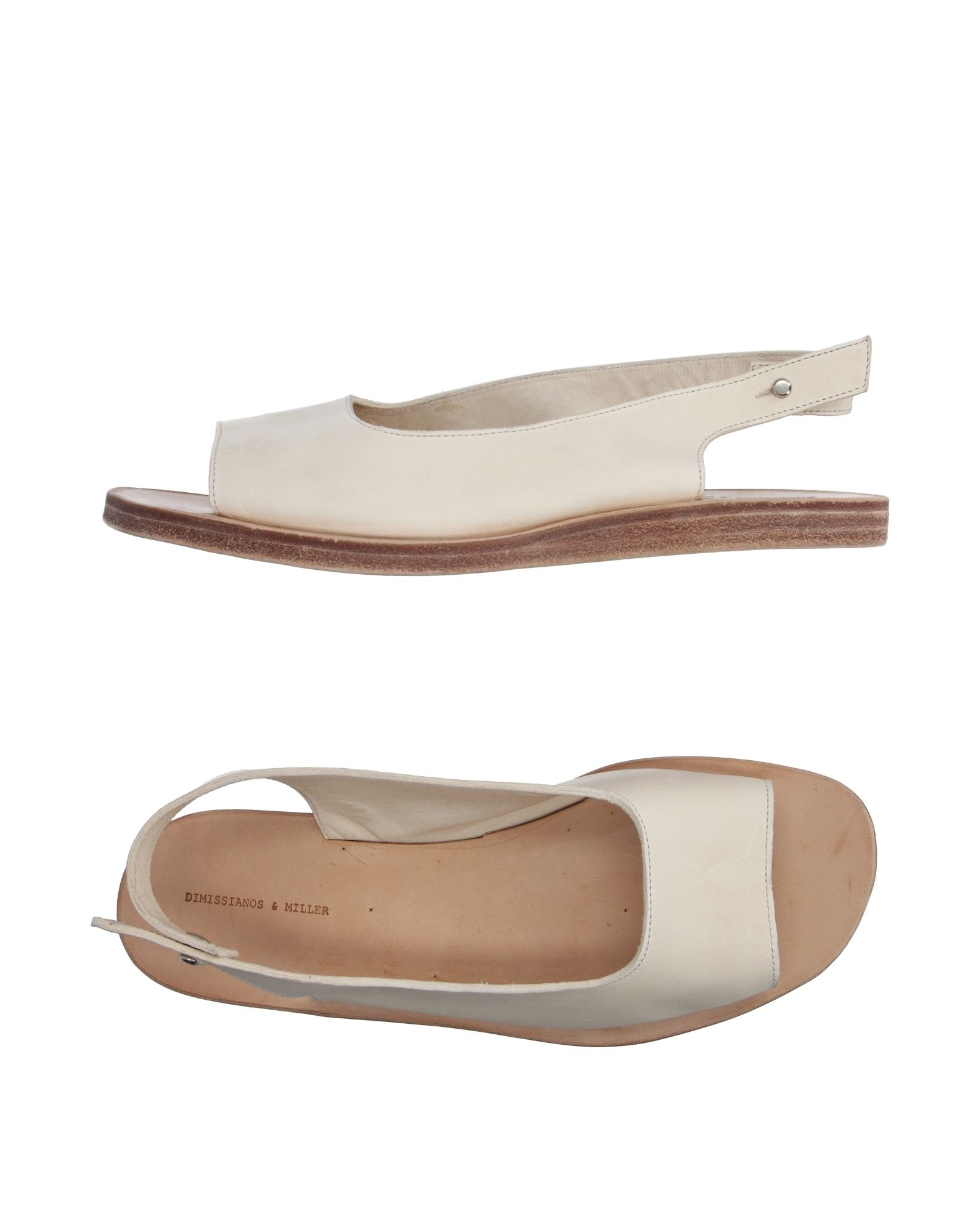 27f4225ba721e0 Dimissianos   Miller Sandals In Ivory