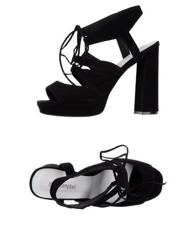 Купить Женские сандали JEFFREY CAMPBELL черного цвета