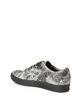 LANVIN DBB1 RUBBER CALFSKIN SNEAKER Sneakers U d