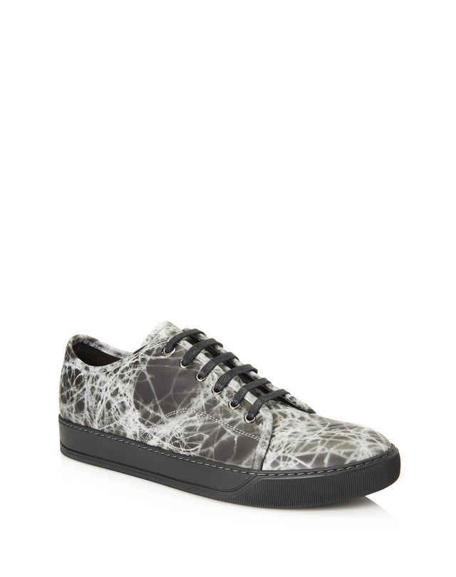 LANVIN DBB1 RUBBER CALFSKIN SNEAKER Sneakers U f