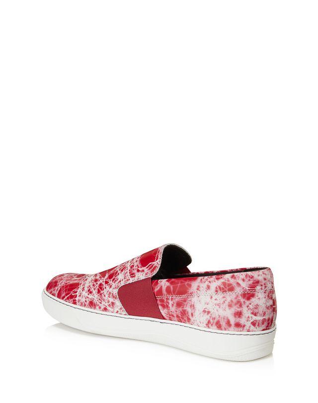 LANVIN MARBLED SLIP-ON SNEAKER Sneakers U d