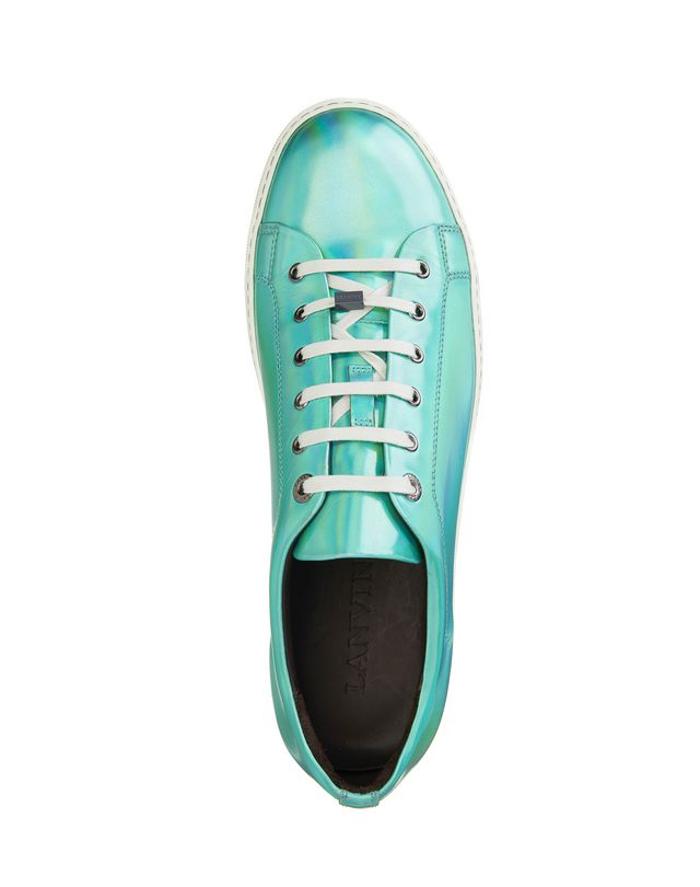 LANVIN PATENT CALFSKIN SNEAKER Sneakers U r