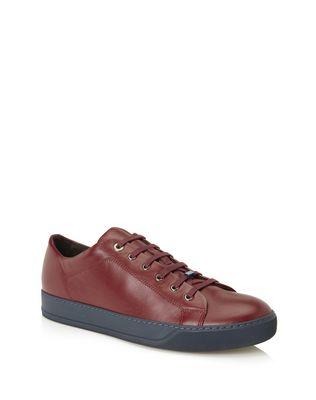 LANVIN Sneakers U NAPPA CALFSKIN SNEAKER F
