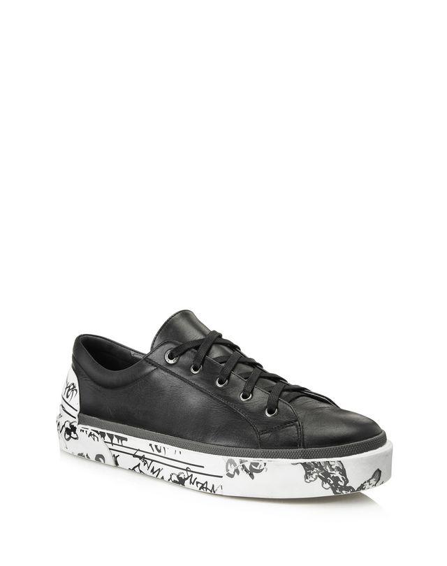 LANVIN VULCANIZED NAPPA CALFSKIN DERBY SNEAKER Sneakers U f