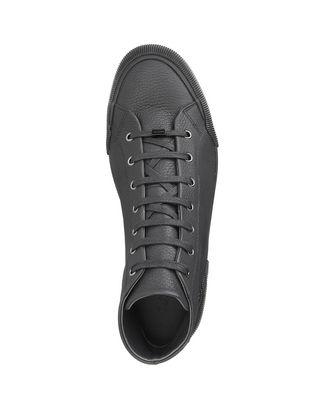 LANVIN VULCANIZED GRAINED CALFSKIN MID TOP SNEAKER Sneakers U r